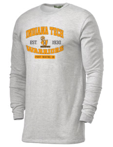 Indiana Tech Warriors Alternative Men's 4.4 oz. Long-Sleeve T-Shirt