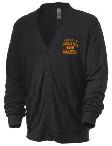 Indiana Tech Warriors Men's 5.6 oz Triblend Cardigan