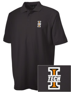 Indiana Tech Warriors Embroidered Men's Technical Performance Polo