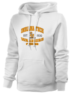 Indiana Tech Warriors Russell Women's Pro Cotton Fleece Hooded Sweatshirt