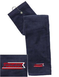 Lugoff Elgin High School Demons Embroidered Hand Towel with Grommet