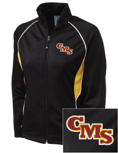 Claremont-Mudd-Scripps Men's Athletics Stags Embroidered Holloway Women's Spirit Full-Zip Warm Up Jacket