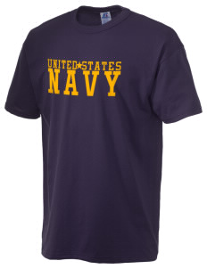U.S. Navy  Russell Men's NuBlend T-Shirt
