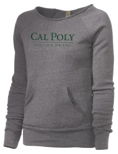 California Polytechnic State University Mustangs Alternative Women's Maniac Sweatshirt