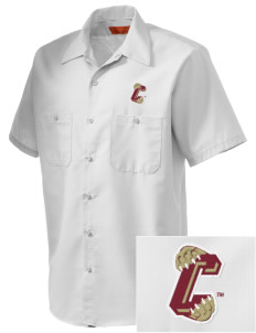 College of Charleston Cougars Embroidered Men's Cornerstone Industrial Short Sleeve Work Shirt