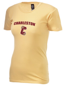 College of Charleston Cougars Alternative Women's Basic Crew T-Shirt