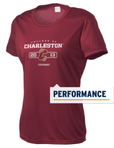 College of Charleston Cougars Women's Competitor Performance T-Shirt