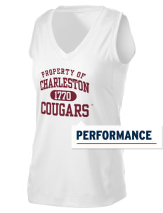 College of Charleston Cougars Women's Performance Fitness Tank