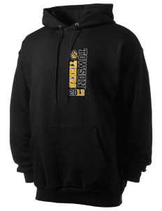 Towson University Tigers Men's 7.8 oz Lightweight Hooded Sweatshirt