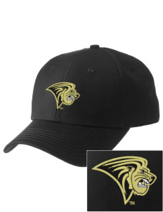 Lindenwood University Lions  Embroidered New Era Adjustable Structured Cap