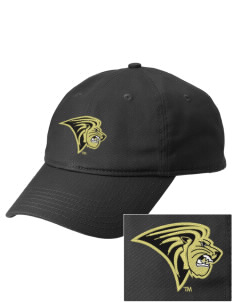 Lindenwood University Lions  Embroidered New Era Adjustable Unstructured Cap