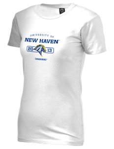 University of New Haven Chargers Alternative Women's Basic Crew T-Shirt