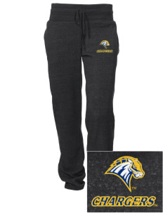 University of New Haven Chargers Embroidered Alternative Women's Unisex 6.4 oz. Costanza Gym Pant