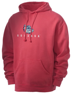 Gonzaga University Bulldogs Men's 80/20 Pigment Dyed Hooded Sweatshirt