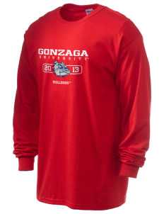 Gonzaga University Bulldogs 6.1 oz Ultra Cotton Long-Sleeve T-Shirt