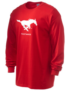 Southern Methodist University Mustangs 6.1 oz Ultra Cotton Long-Sleeve T-Shirt
