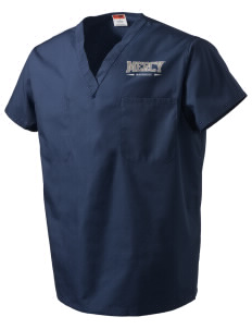 Mercy College Mavericks V-Neck Scrub Top