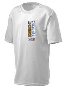 Christendom College Crusaders  Holloway Kid's Zoom Performance T-Shirt