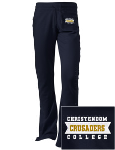 Christendom College Crusaders Embroidered Holloway Women's Axis Performance Sweatpants