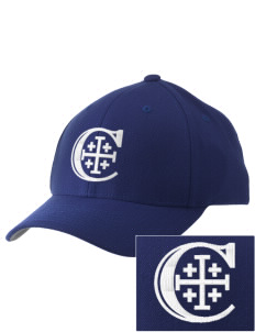 Christendom College Crusaders Embroidered Pro Model Fitted Cap
