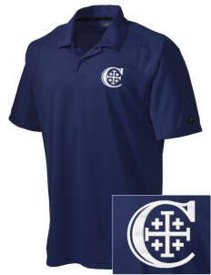 Christendom College Crusaders Embroidered OGIO Men's Handlebar Polo