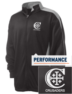 Christendom College Crusaders Embroidered Russell Men's Fusion Tech Fleece Full Zip Jacket