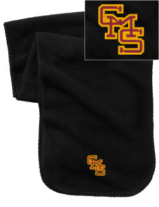 Claremont-Mudd-Scripps Women's Athletics Athenas Embroidered Fleece Scarf