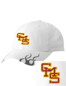Claremont-Mudd-Scripps Women's Athletics Athenas  Racing Cap with Flames