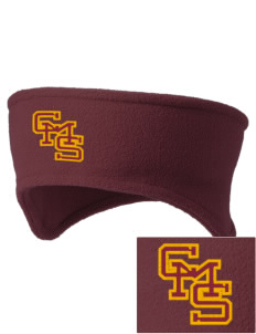 Claremont-Mudd-Scripps Women's Athletics Athenas Embroidered Fleece Headband
