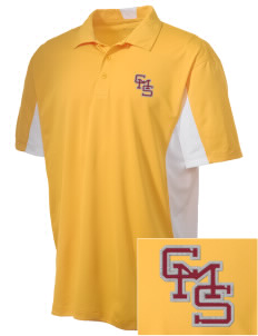 Claremont-Mudd-Scripps Women's Athletics Athenas Embroidered Men's Side Blocked Micro Pique Polo