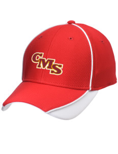 Claremont-Mudd-Scripps Women's Athletics Athenas Embroidered New Era Contrast Piped Performance Cap