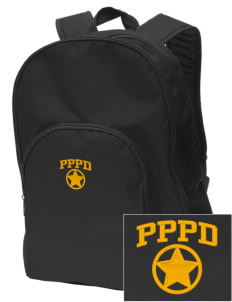 Palos Park Police Department Embroidered Value Backpack