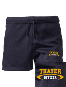 "Thayer Police Department Embroidered Holloway Women's Balance Shorts, 3"" Inseam"