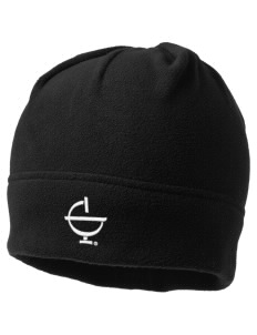 Excelsior College Start to Finish Embroidered Fleece Beanie