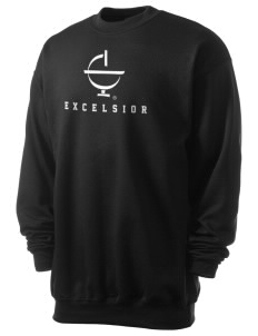 Excelsior College Start to Finish Men's 7.8 oz Lightweight Crewneck Sweatshirt