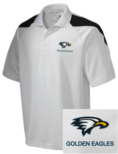 La Sierra University Golden Eagles Embroidered Holloway Men's Frequency Performance Pique Polo