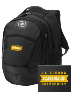 La Sierra University Golden Eagles Embroidered OGIO Rogue Backpack