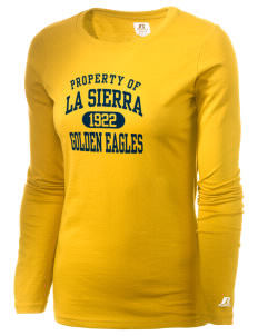 La Sierra University Golden Eagles  Russell Women's Long Sleeve Campus T-Shirt
