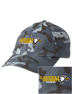 La Sierra University Golden Eagles Embroidered Camouflage Cotton Cap