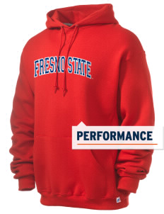 Fresno State Bulldogs Russell Men's Dri-Power Hooded Sweatshirt