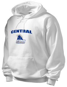 Central Baptist College Mustangs Men's Hooded Sweatshirt