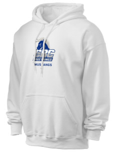 Central Baptist College Mustangs Ultra Blend 50/50 Hooded Sweatshirt