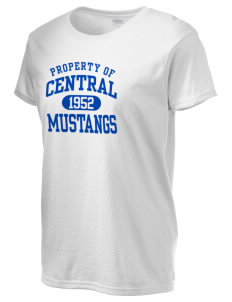 Central Baptist College Mustangs Women's 6.1 oz Ultra Cotton T-Shirt