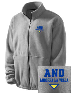 Andorra Embroidered Men's Fleece Jacket
