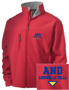 Andorra Embroidered Men's Soft Shell Jacket