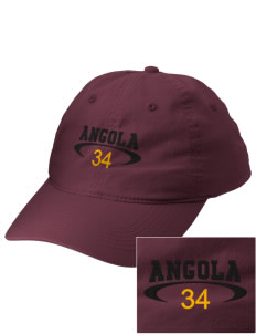 Angola Embroidered Vintage Adjustable Cap