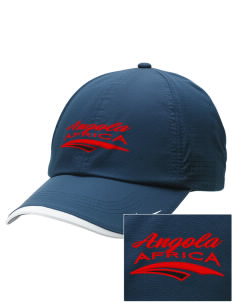 Angola Embroidered Nike Dri-FIT Swoosh Perforated Cap