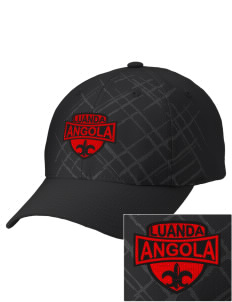 Angola Embroidered Mixed Media Cap