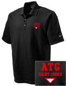Antigua and Barbuda Embroidered Nike Men's Dri-FIT Pique II Golf Polo