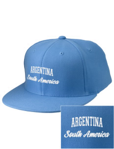 Argentina Embroidered Diamond Series Fitted Cap